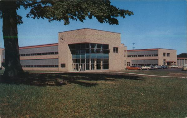 Harlow H. Curtice Community College Building, Flint College Michigan
