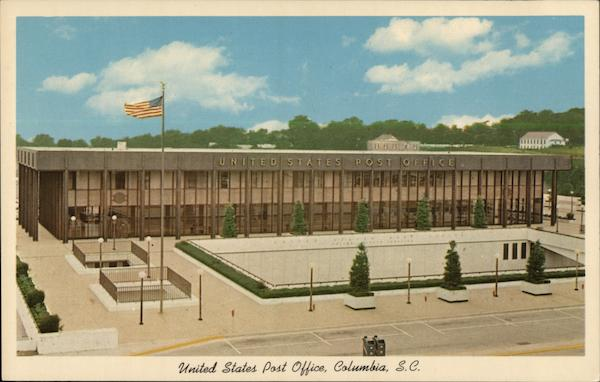 United States Post Office Columbia South Carolina