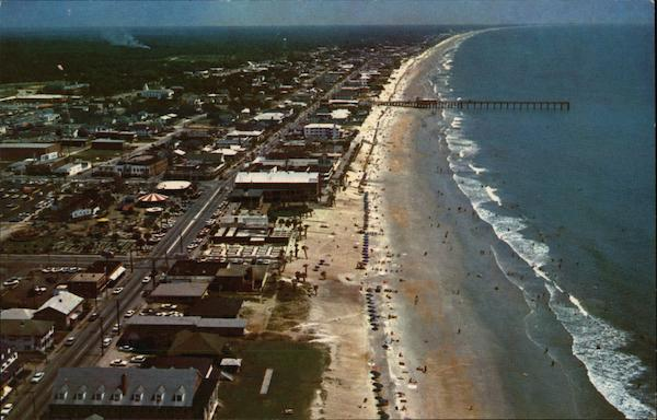 Aerial View, Looking North Myrtle Beach South Carolina