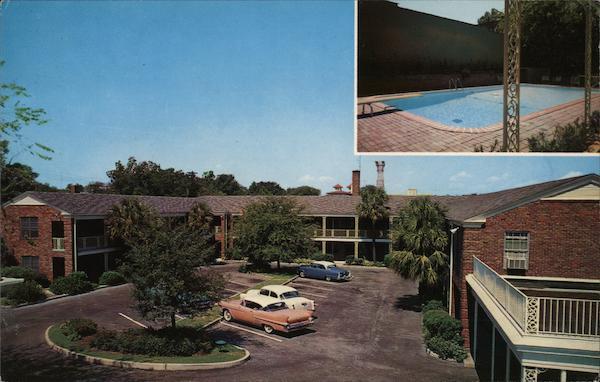 Town House Motor Hotel Columbia Sc Postcard