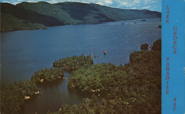 Paradise Bay on Lake George Adirondack Mountains New York