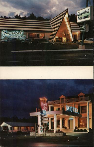 Imperial Arms Motel and Restaurant Glens Falls New York
