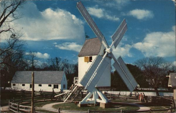 Robertson's Windmill Williamsburg Virginia