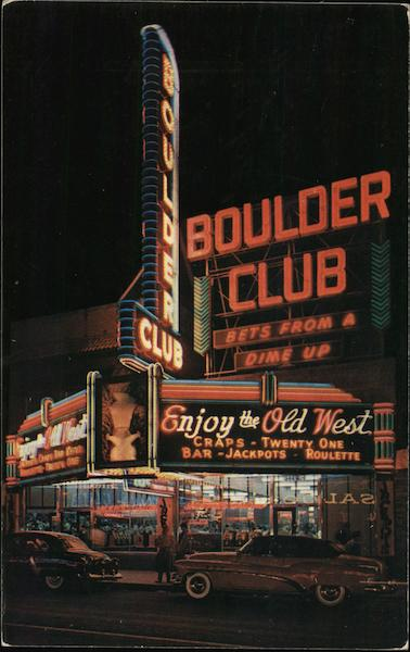 Boulder Club Las Vegas Nevada