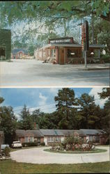 Piney Woods Court Postcard