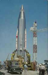 ATLAS Intercontinental Ballistic Missile at Cape Canaveral