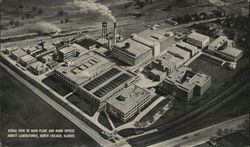 Aerial View of Main Plant and Home Offices Abbott Laboratories