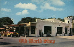 Old World Shop Postcard