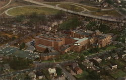 Air View of North Carolina Baptist Hospital and Bowman Gray School of Medicine