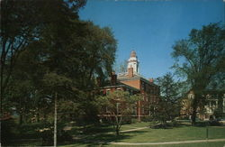 Allegheny College - Bentley Hall, Administration Building Postcard