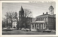 Town Hall and Courthouse - Exeter, New Hampshire