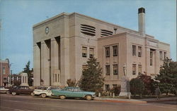 Caldwell County Court House Postcard