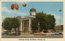 Calloway County Courthouse Postcard