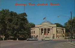 Pershing County Court House Postcard