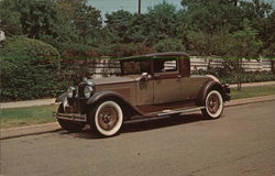 1931 Packard Coupe Postcard