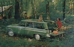 From the Advanced Thinking of Studebaker - Most Versatile Wagon on Wheels, the Lark Wagonaire