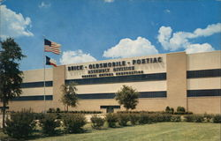 General Motors Assembly Plant Postcard