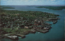 The Waterfront at Eastport, Easternmost City of the U.S.