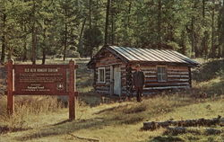 Old Alta Ranger Station, First in the U.S.