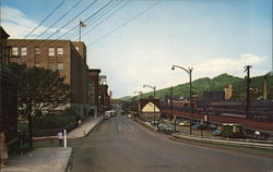 Entering Bluefield Via Princeton Ave. Postcard