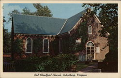 Old Blandford Church, Petersburg, Virginia