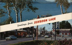 Greetings from Schroon Lake