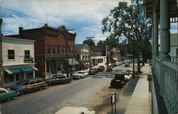 Street View of Town in Adirondacks