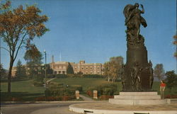 Liberty Monument of Revolutionary War Heroes and Moses-Ludington Hospital