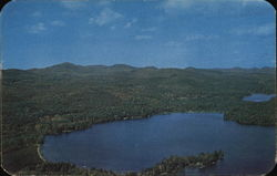 View of Basin Bay and the Majestic Adirondacks
