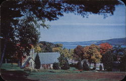 Scenic View of Cabin and Lake - The Silver Bay Association