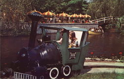 Storytown U. S. A., Child on Locomotive Ride