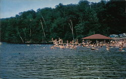 Swimming at Babcock Lake
