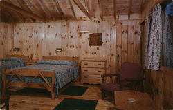 Twin Bay Village - Interior View of Private Lake Shore Cottage
