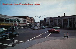 Greetings from Framingham, Mass.