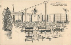 Abner Wheeler House - Terrace