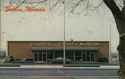 Churchill County Museum Postcard