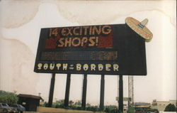 Pedros' Wonder Sign, South of the Border