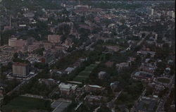 Aerial View of Peabidy College and Vanderbilt University