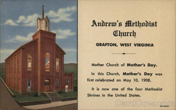 Andrew's Methodist Church Grafton West Virginia