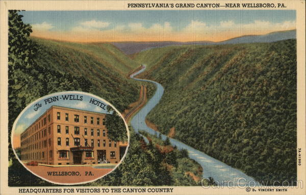The Penn Wells Hotel Wellsboro Pennsylvania