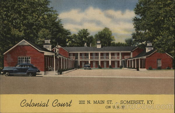 Colonial Court Somerset Kentucky