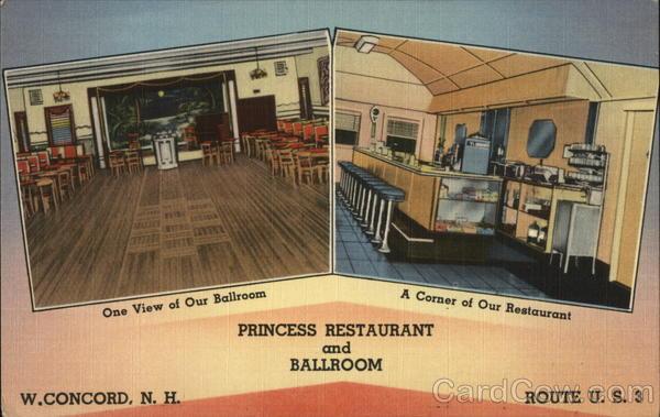 Princess Restaurant and Ballroom West Concord New Hampshire