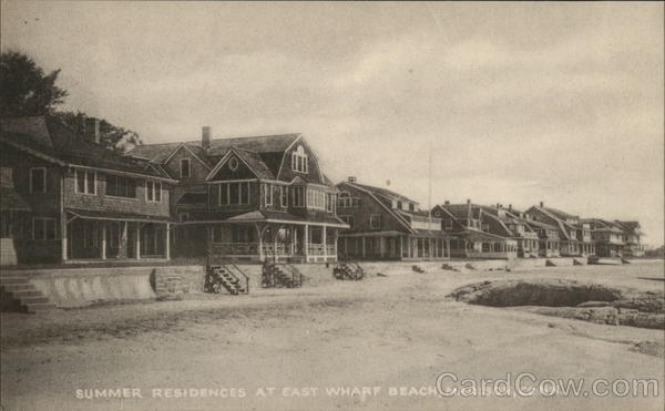 Summer Residences at East Wharf Beach Madison Connecticut
