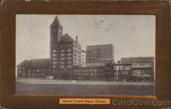 Illinois Central Depot Chicago