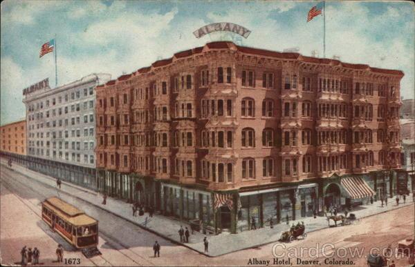 Albany Hotel Denver Colorado