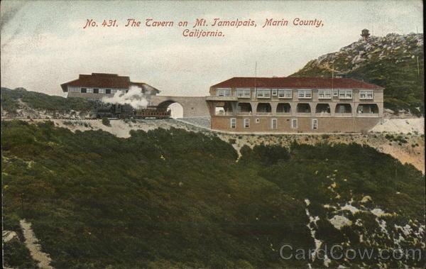 Tavern on Mount Tamalpais Mill Valley California
