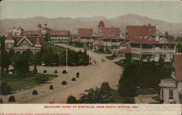 Soldiers Home at Sawtelle Santa Monica California