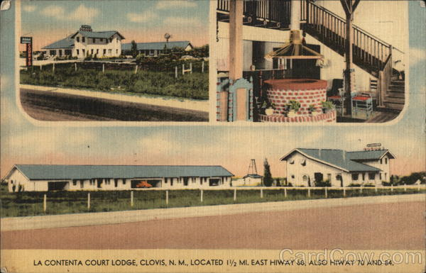 La Contenta Court Lodge Clovis New Mexico