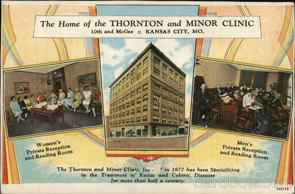 3 Pictures - The Home of the Thornton and Minor Clinic Kansas City Missouri
