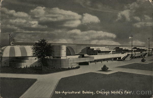 Agricultural Building, Chicago World's Fair Illinois